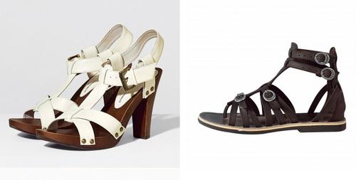Chaussures et indécision