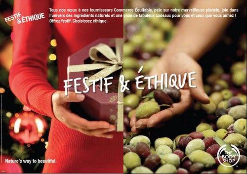 The Body Shop pour Noël : un coffret à gagner !