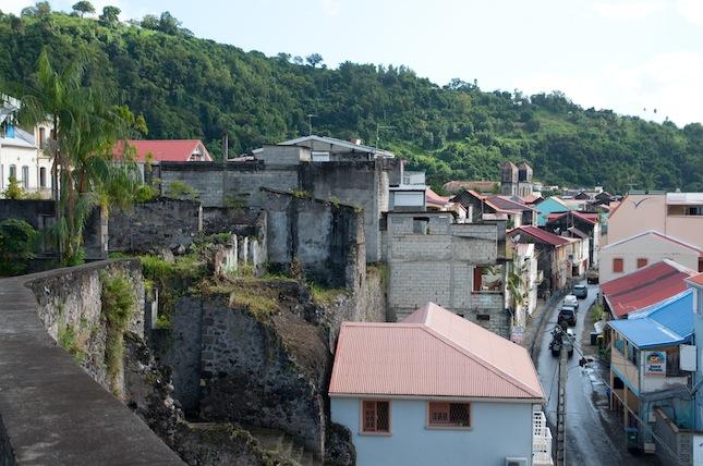 Martinique visite de saint pierre clyne blog for Chambre de commerce martinique