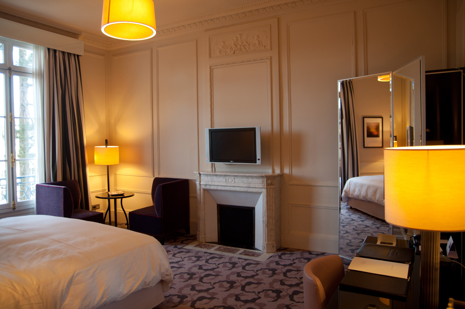Trianon palace versailles chambre deluxe 1 clyne blog for Les plus belles chambres parentales