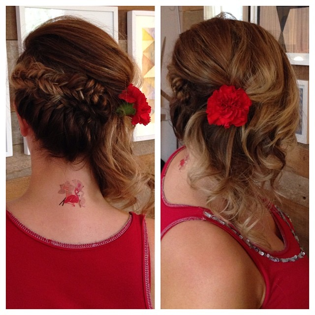 coiffure-tresse-fleurs