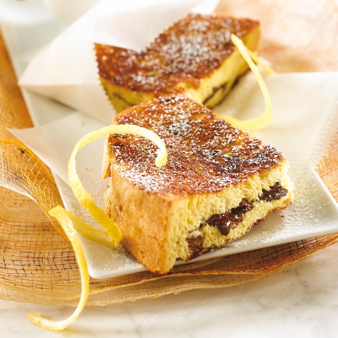 panini chocolat panettone