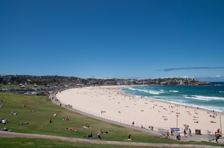 Australie bondi beach la plage mythique de sydney for Piscine paris naturiste