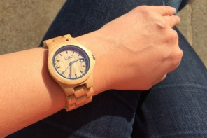 Les jolies montres en bois JORD (giveaway)