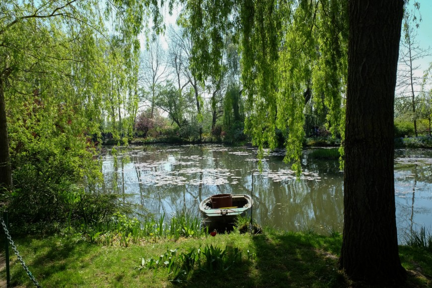 Giverny le jardin de claude monet au printemps - Les jardins de monet ...