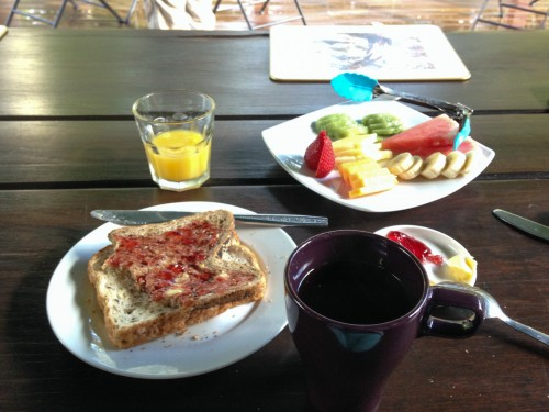 australie-queensland-glass-house-mountains-ecolodge-breakfast-birdsong